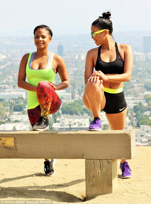 Christina Milian Turned Up Fitness