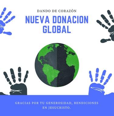 DONACIÓN GLOBAL
