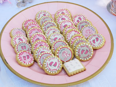 galletas decoradas con papel de azucar