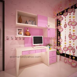 desain kamar tidur anak cowok