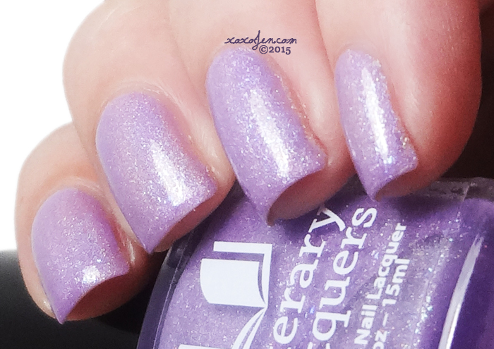 xoxoJen's swatch of Literary Lacquers Free to Fly