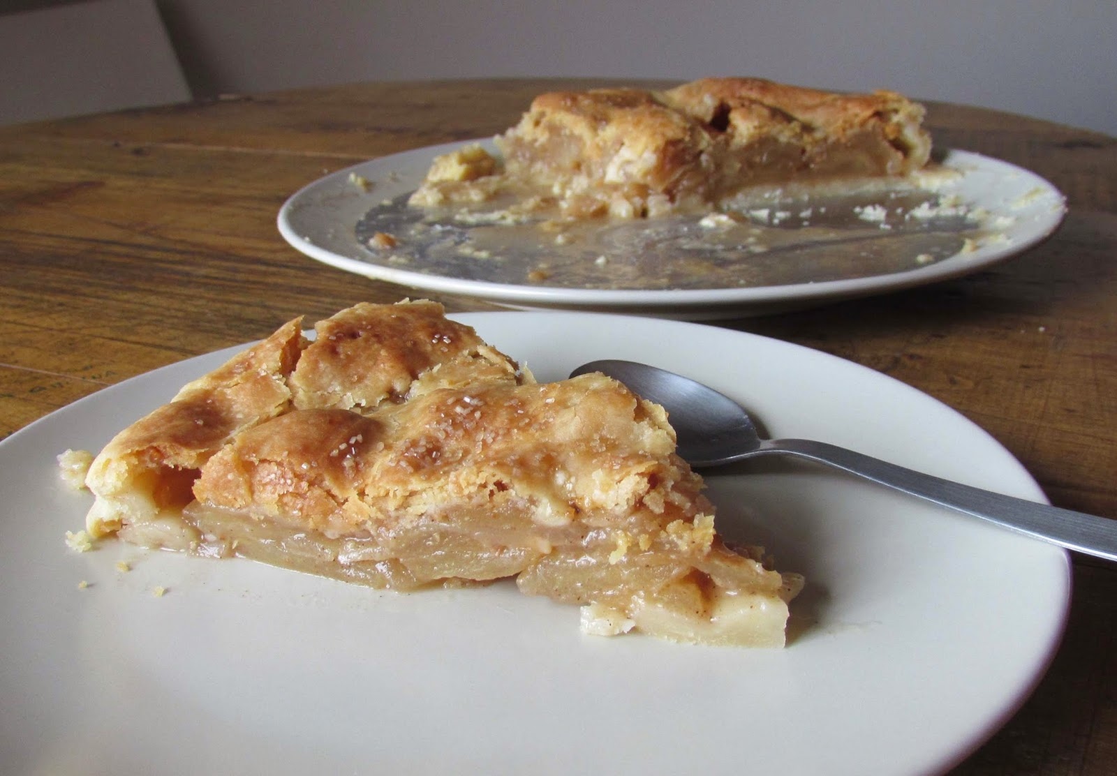 Tarta de manzana (Apple pie), receta