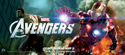 The Avengers International Movie Banners - Mark Ruffalo as Hulk & Robert Downey Jr. as Iron Man