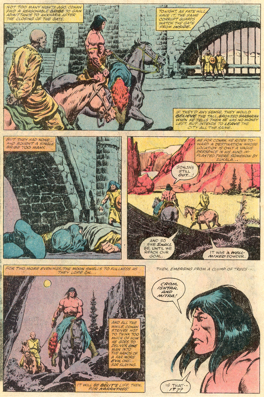 Conan the Barbarian (1970) Issue #115 #127 - English 19