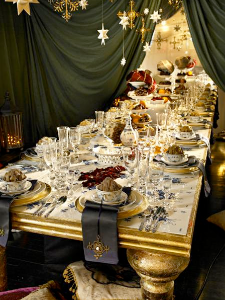 Rydeng`s royal copenhagen s christmas tables