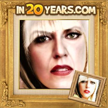 Lady Gaga mais velha