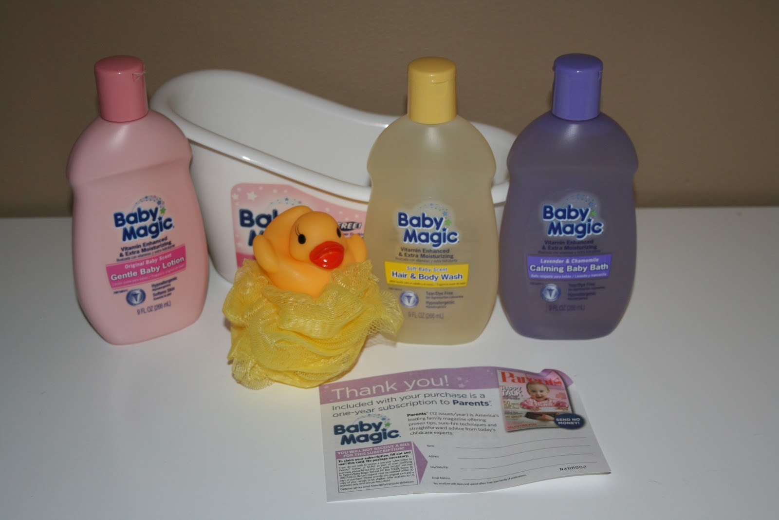 Trying To Go Green: Baby Magic Rub-a-Dub Fun Tub Gift Set Review ...