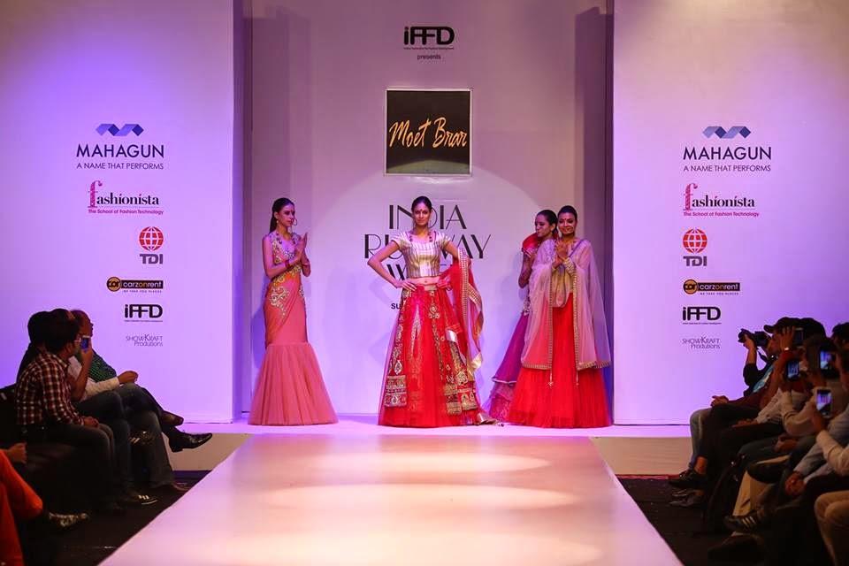 Moet Brar Collection at IRW 2015, India runway week 2015, IRW 15 Summer collection