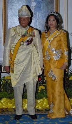 Sultan dan Sultanah Pahang Darul Makmur.