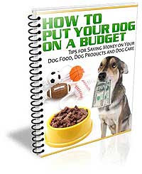 Put Your Dog on a Budget