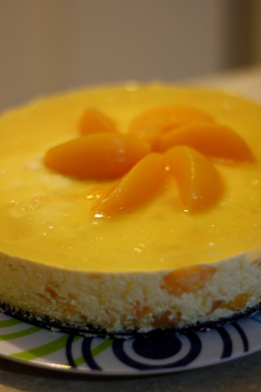 Peach Mousse Recipe ~ Easy Dessert Recipes