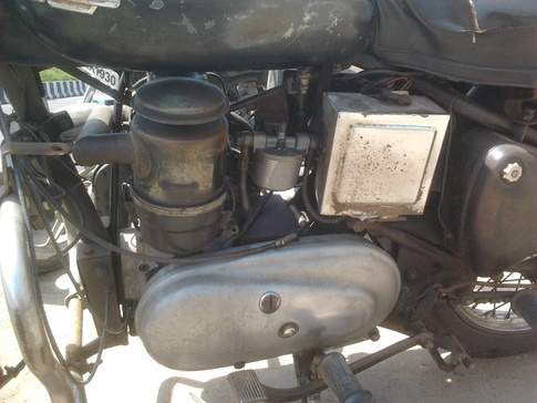 Example Of Diesel Bike- Royal Enfield Taurus