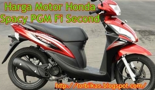 Harga Motor Honda Spacy PGM Fi Second Terbaru