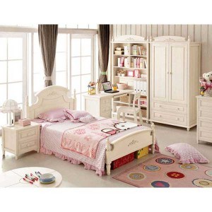 Set Tempat Tidur Anak Perempuan Murah