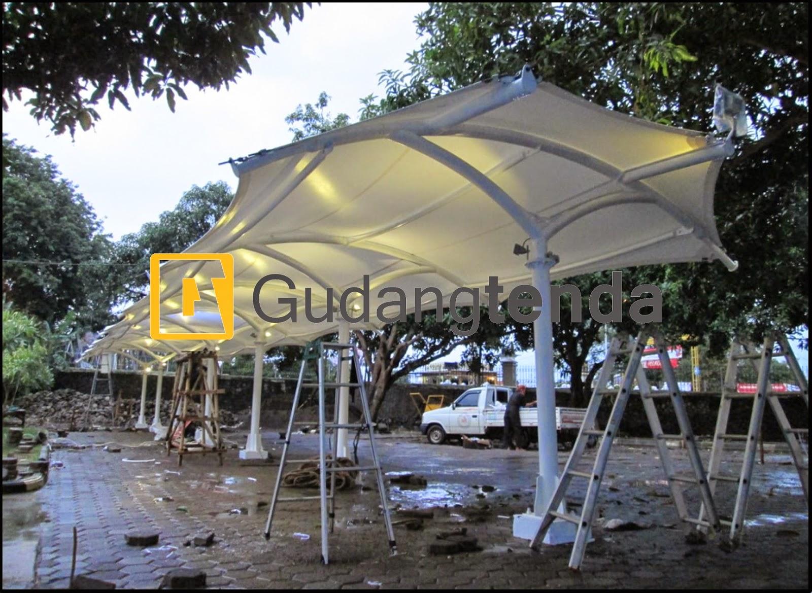 Instalasi Tenda Membrane, Struktur Membrane, Desain Membrane