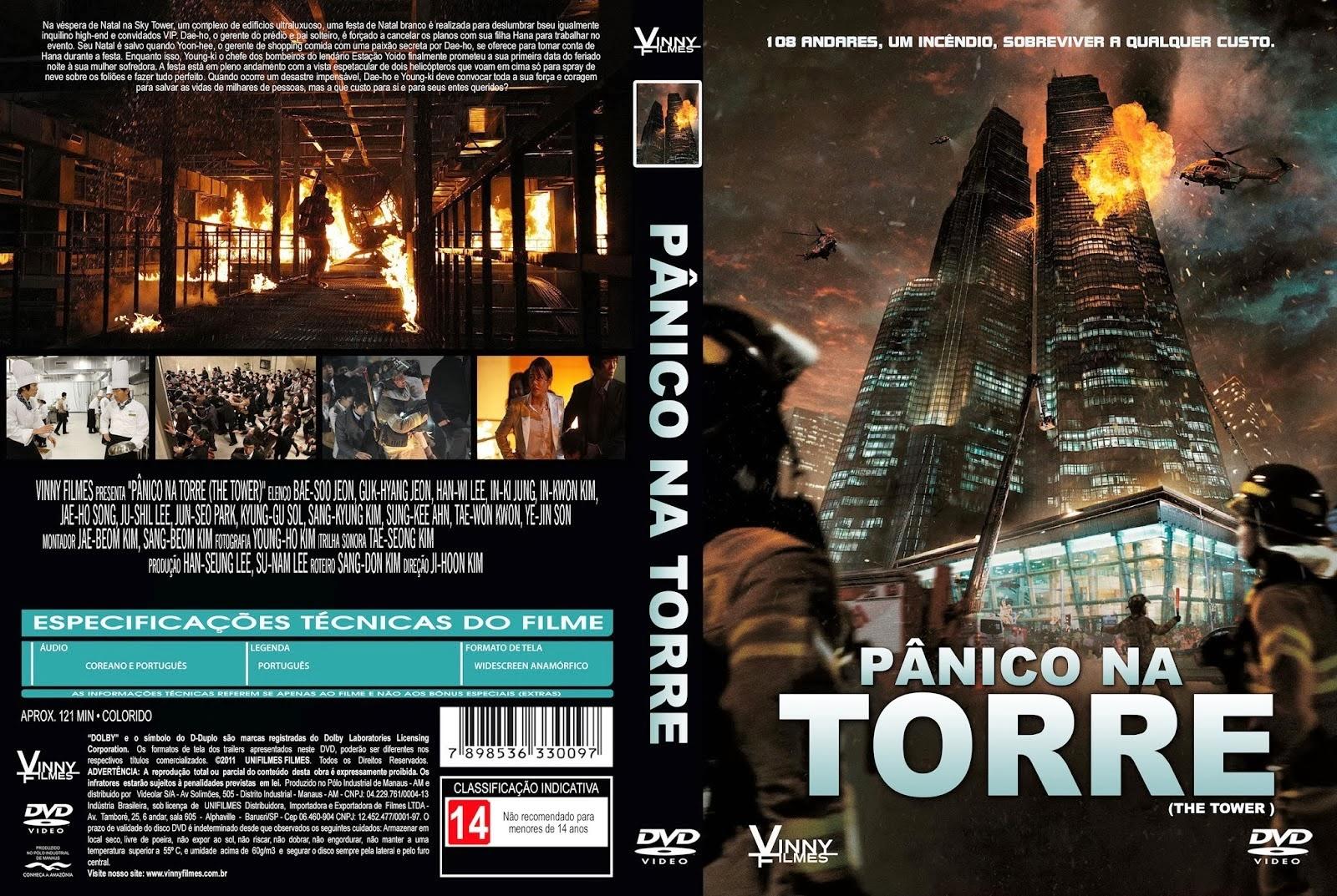 Pânico Na Torre DVD Capa
