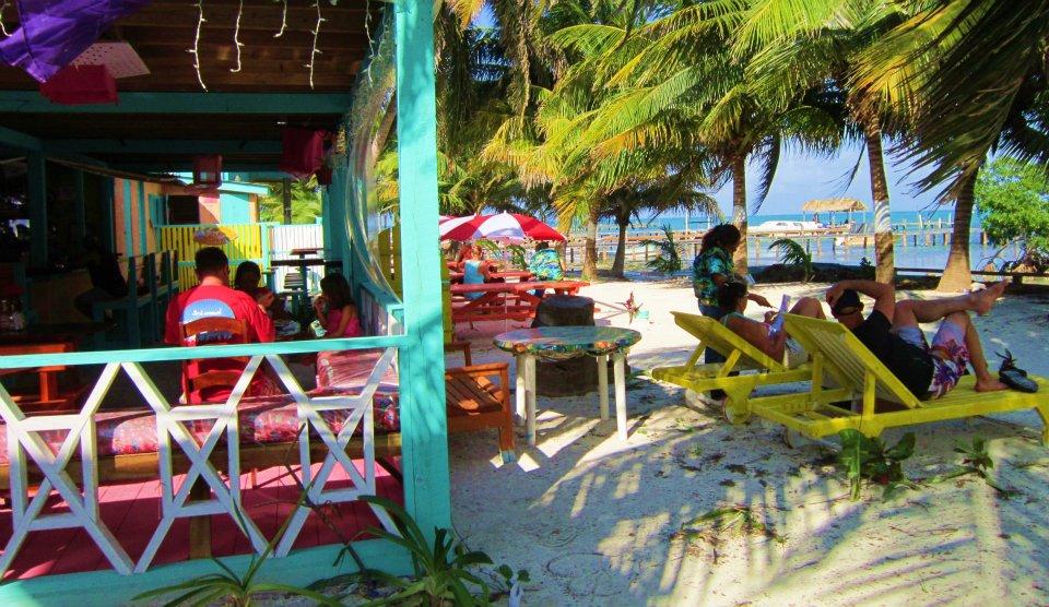 Western Belize Happenings Caye Caulker Top Beach Restaurant On