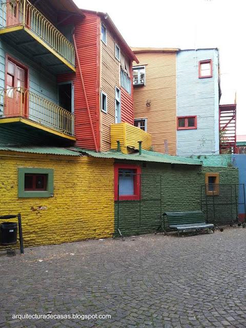 Caminito en La Boca, Buenos Aires, Argentina