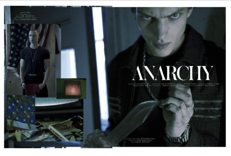'Anarchy' by Rick Day for Dorian Magazine