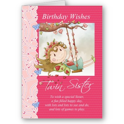 Happy Birthday Greetings Card For Sister Wallpapers Pictures