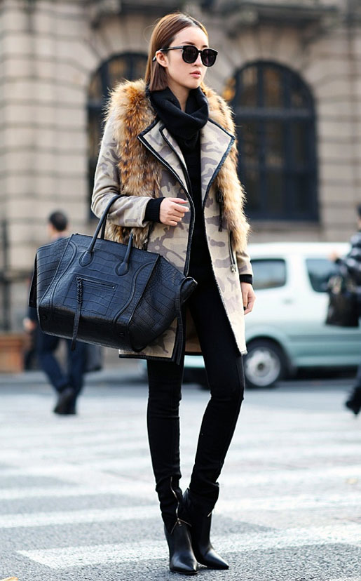 winter coat fur