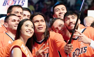 Meralco Bolts Starting Five