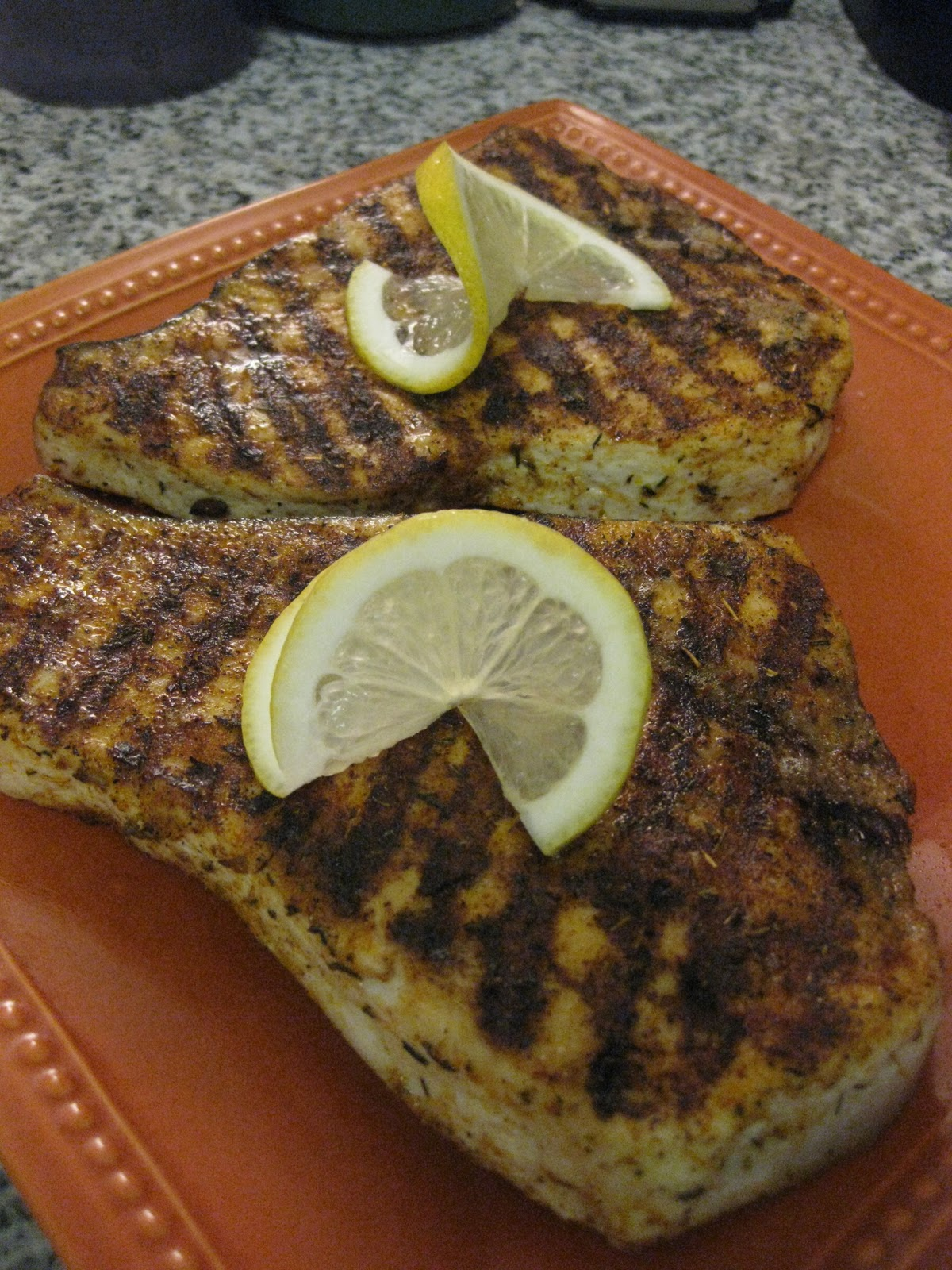 ... to Cook - Matt Likes to Eat: Blackened Grilled Swordfish with Couscous