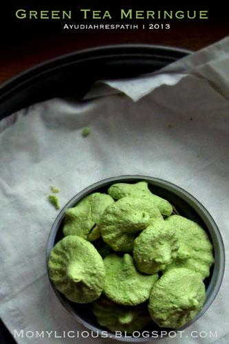 Green Tea Meringue
