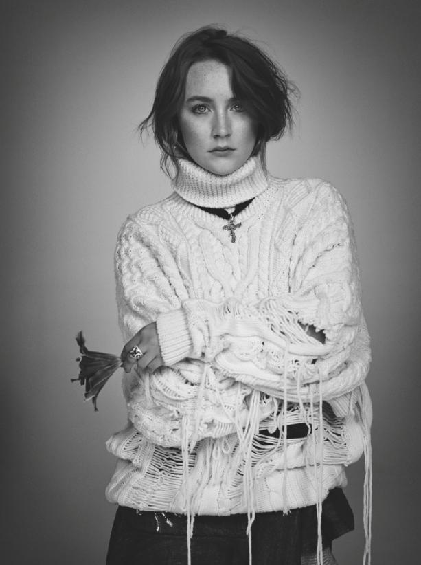 As lindas imagens de Saoirse Ronan para Wonderland