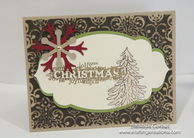 Rustic Christmas Card