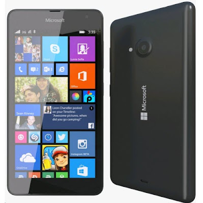 Microsoft Lumia 535 complete specs and features