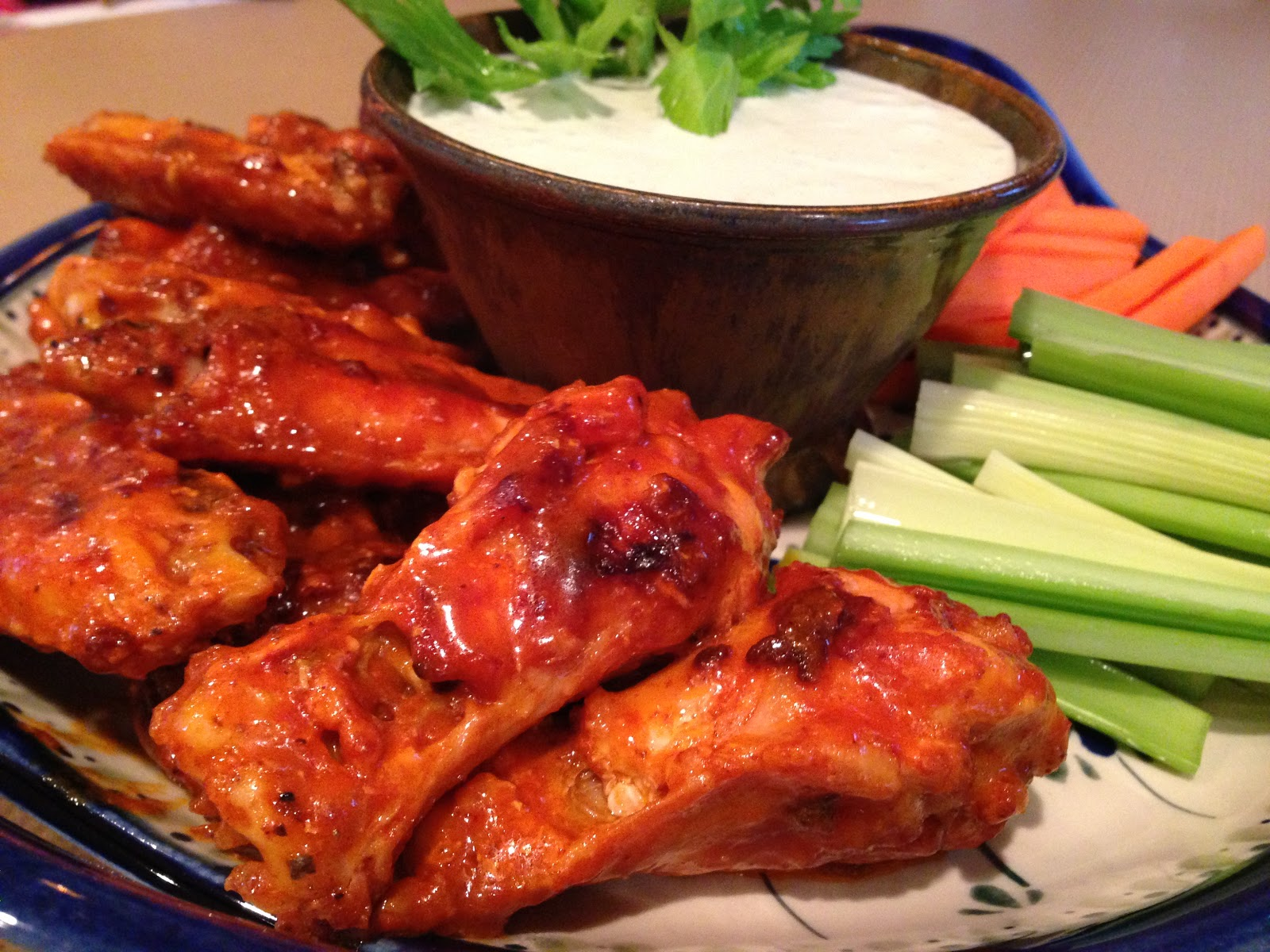 buffalo wings ready for serving buffalo hot wings were invented to use ...