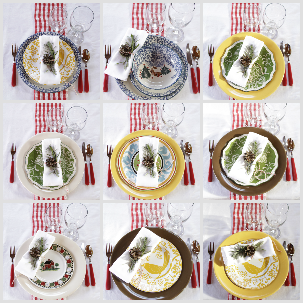 place sets moose cabin set wildlife cabins woodlands bear throughout dinnerware
