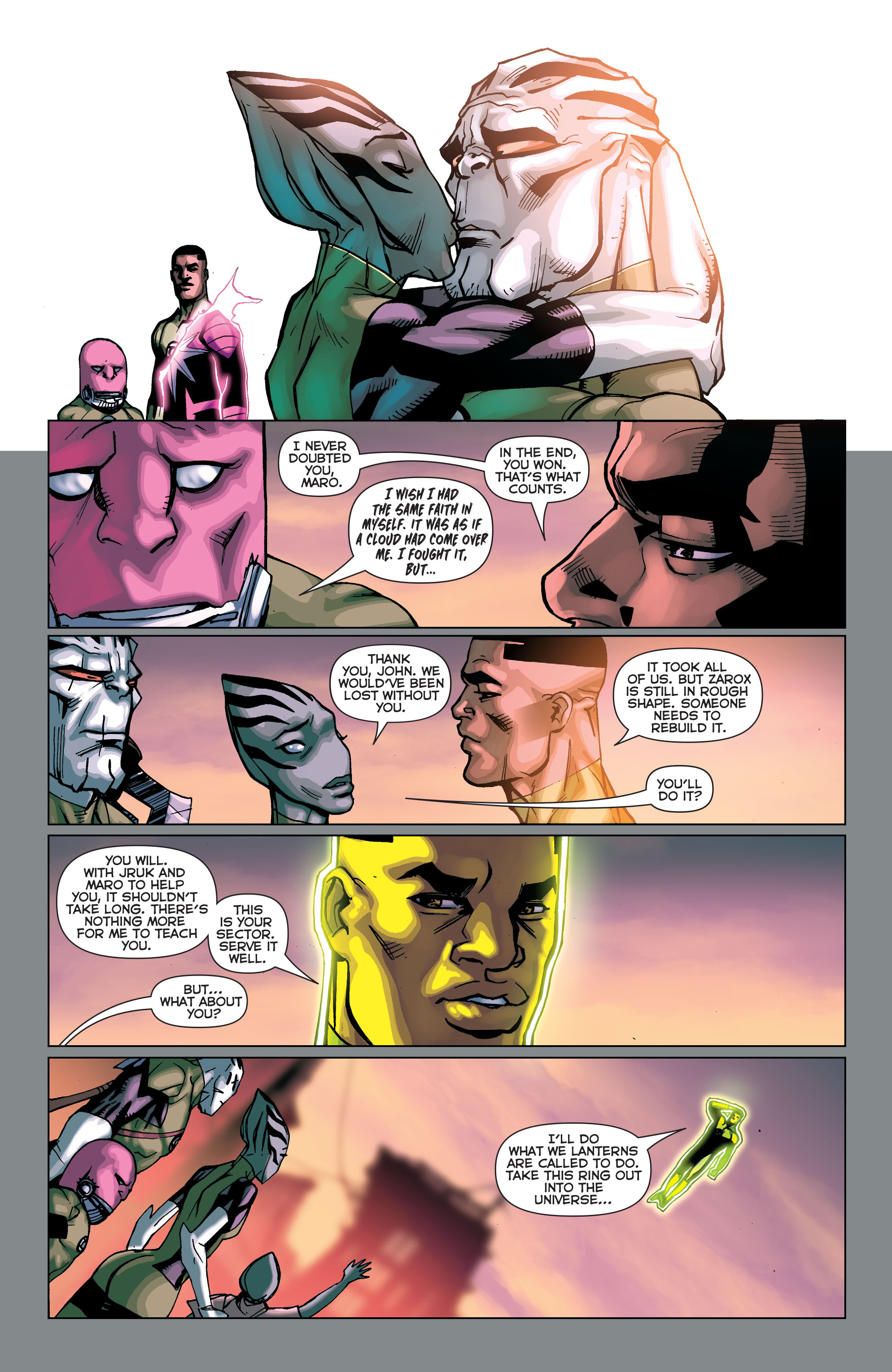 Green Lantern Corps (2011) Issue #40 #43 - English 27
