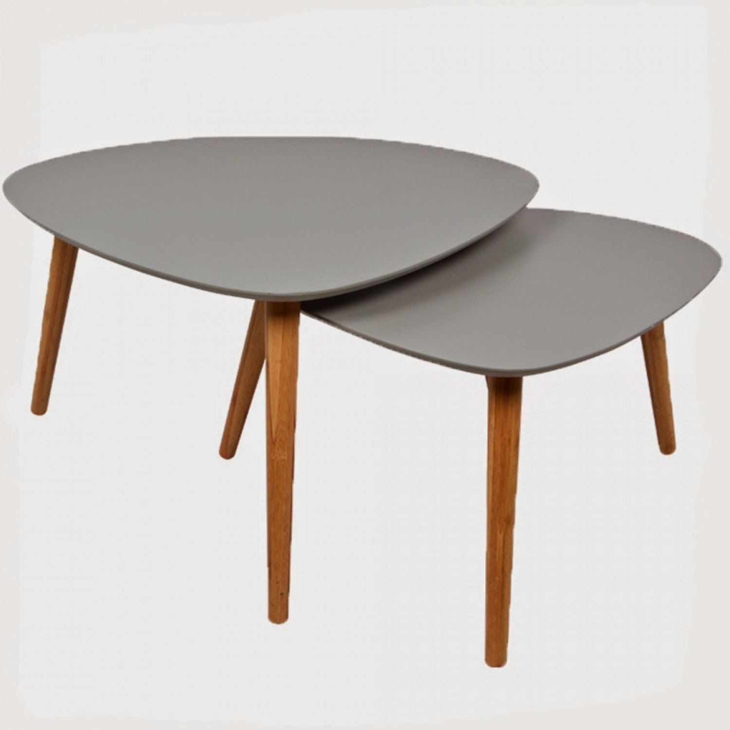 Les tables basses gigognes caract rielle bloglovin - Tables gigognes bois ...