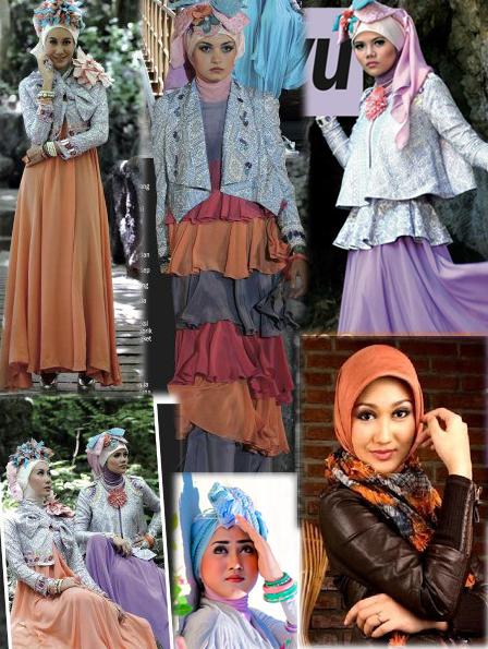 Busana Muslim Dian Pelangi 2013