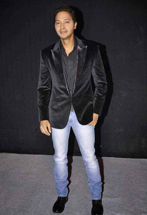 Shreyas Talpade At The Star Parivaar Awards 2014