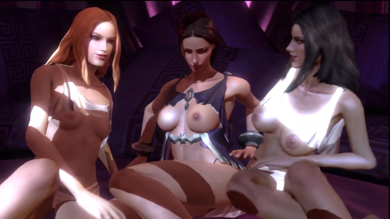 Girl characters in video games naked hentia photos