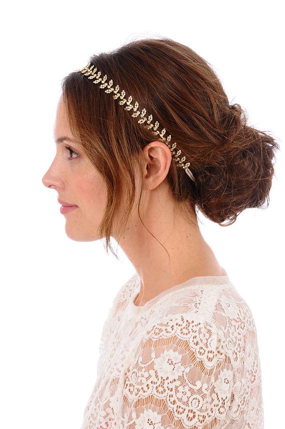 365tenues - Chignon avec headband ...
