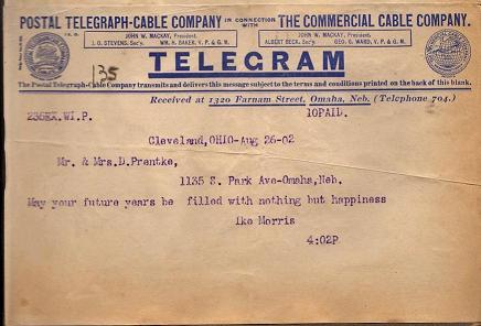 Contoh format surat telegram