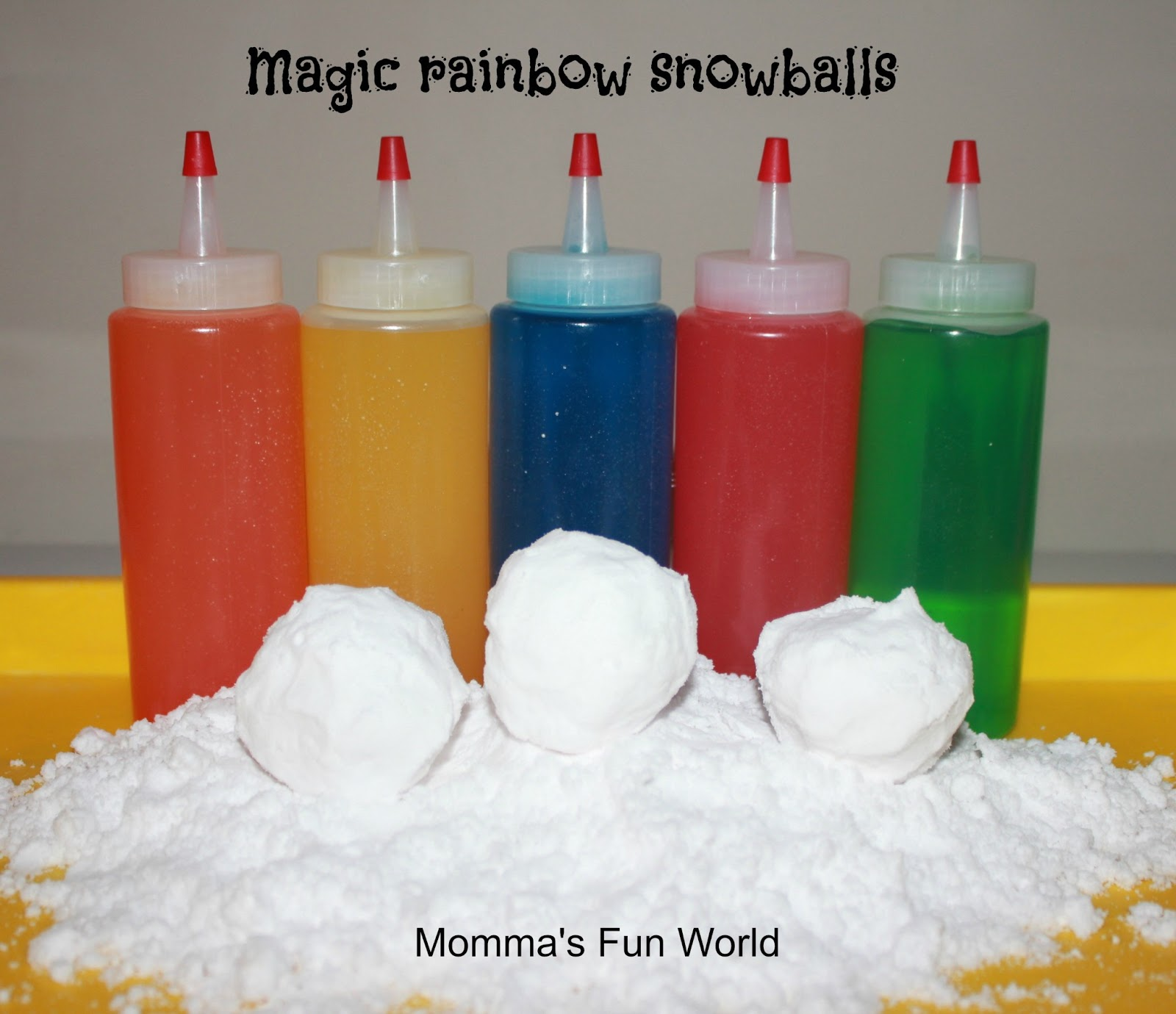 Momma's Fun World: 5+ color science experiments for kids