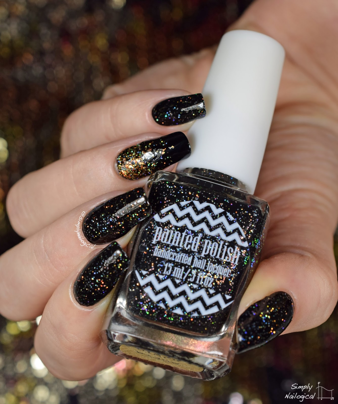 Painted Polish - Black Widow, Baby