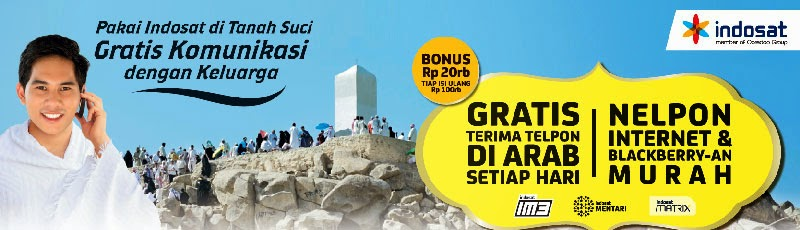 4 (empat) Benefit Program Indosat Haji