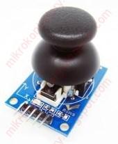 Arduino: Miniaturowy joystick z założoną gałką