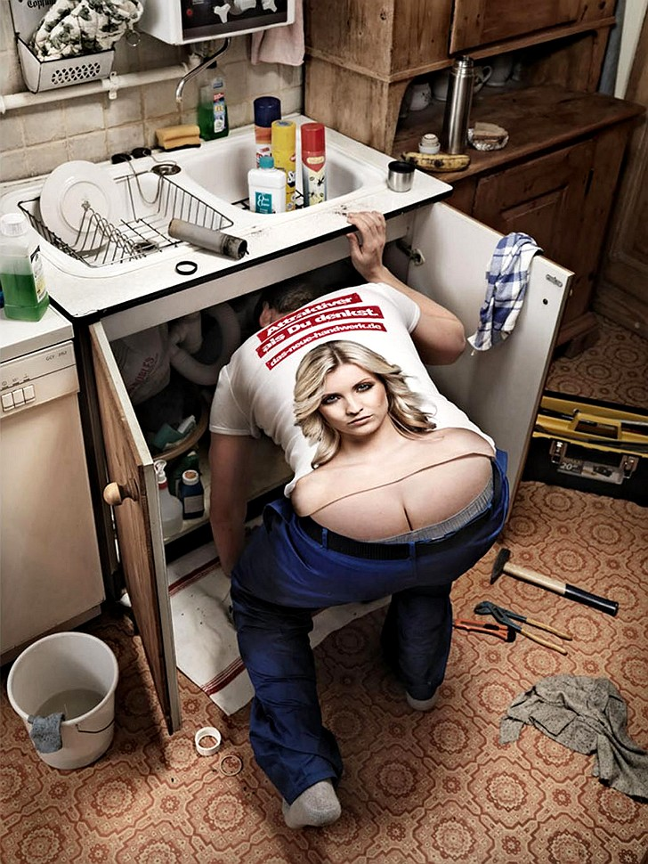 The repairman by WOW Barbie