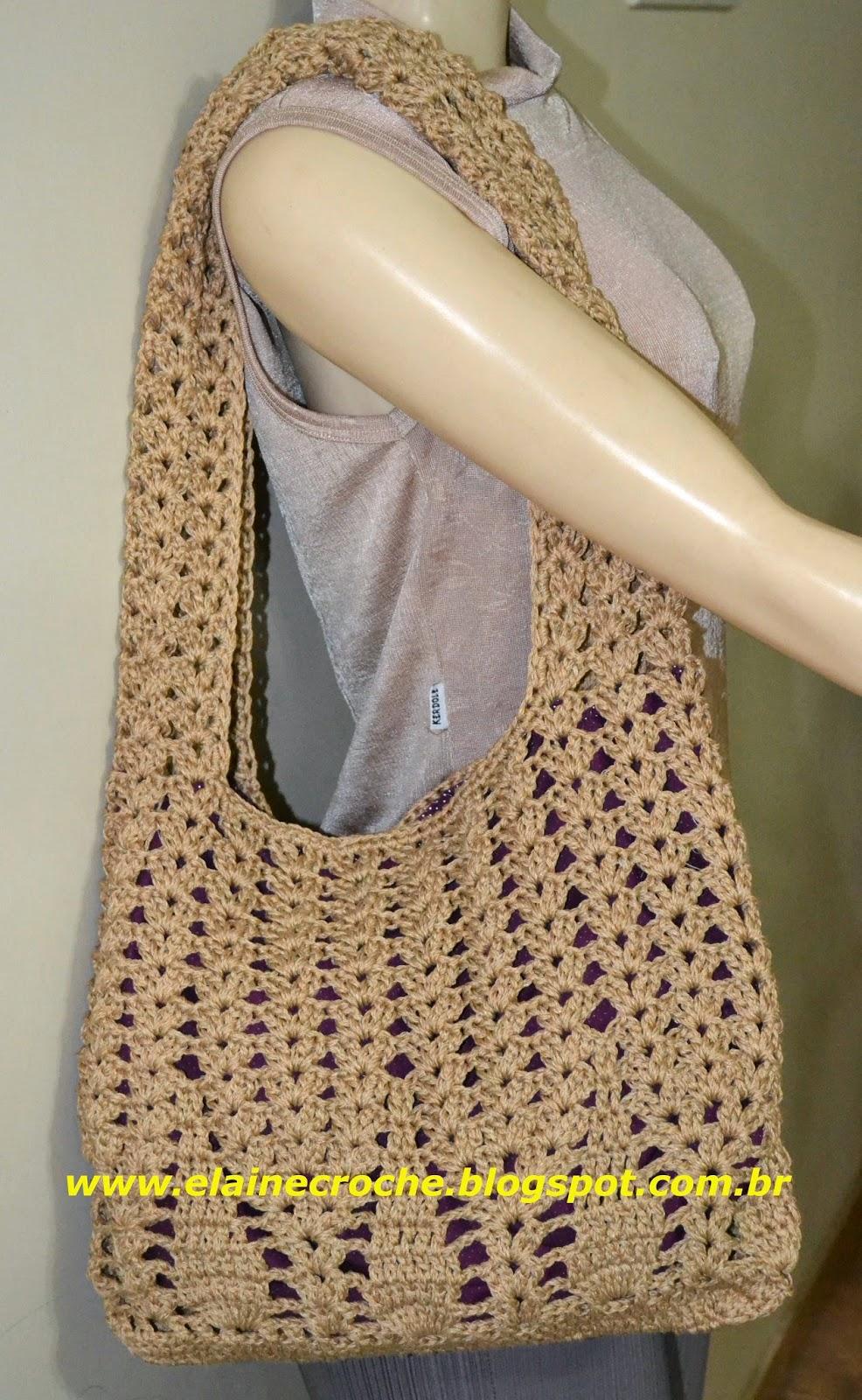 Bolsa De Croche Para Casamento : Elaine croche bolsa susi em croch?