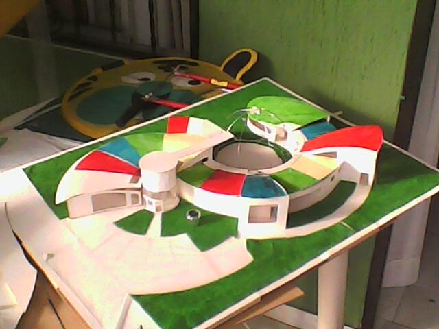 Fotos de maquetas de jardines infantiles de arquitectura y for Maquetas de jardines