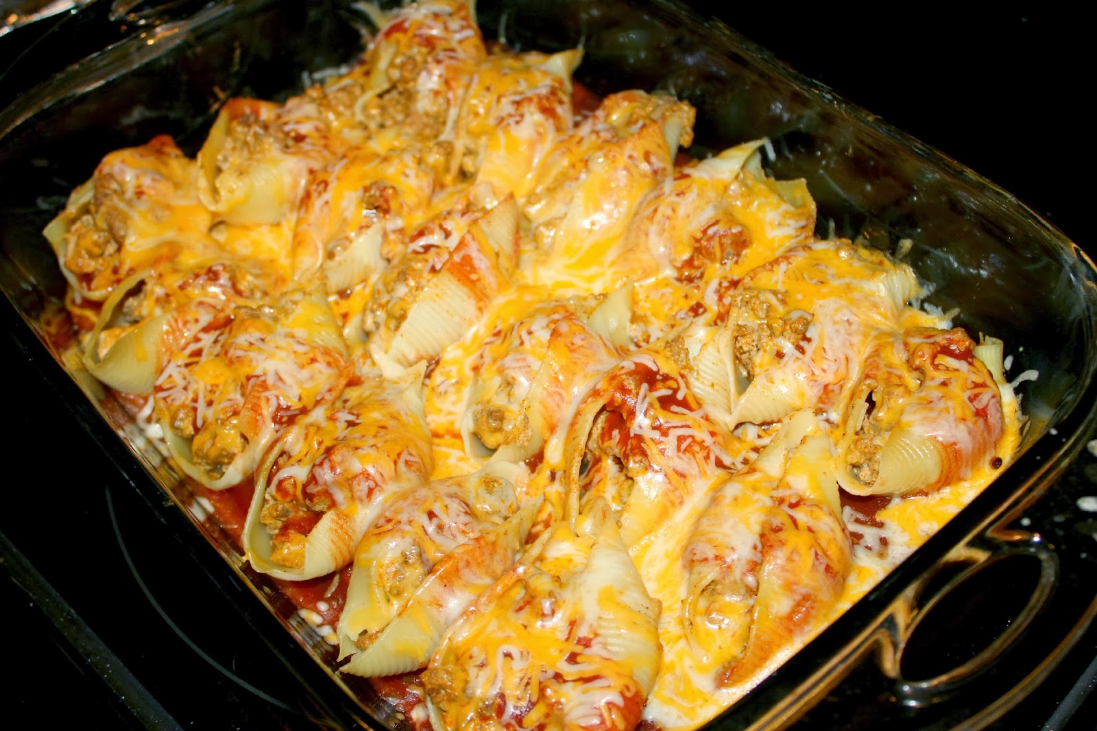 Aleisa.Daily---: Taco Stuffed Shells