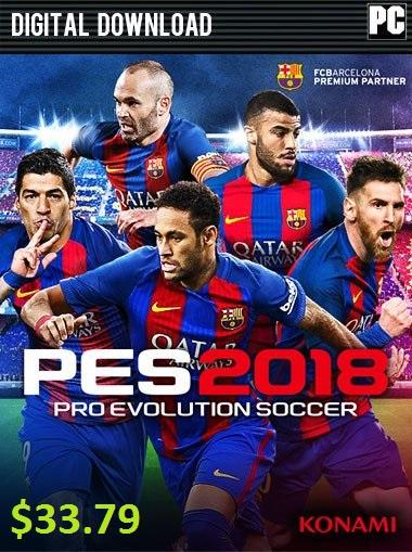 Pro Evolution Soccer 2018 PC - Premium Edition