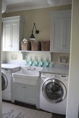 Finaste Huset: inredning i tvättstuga